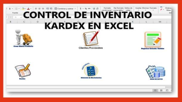 Control de Inventario Kardex