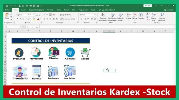 Control de Inventarios Stock Kardex
