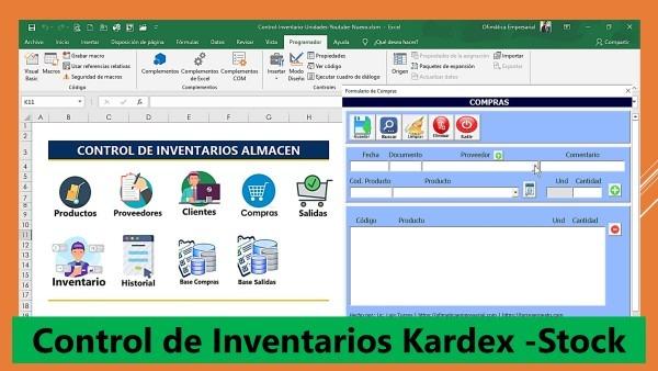 Control de Inventarios-Kardex-Stock